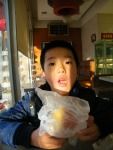 woz's bread breakfast near his dad, benzrad's QRRS dorm inNovem