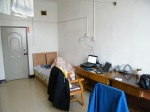 my new apartment in QRRD Dorm 1st. its cold but neat andquilt.